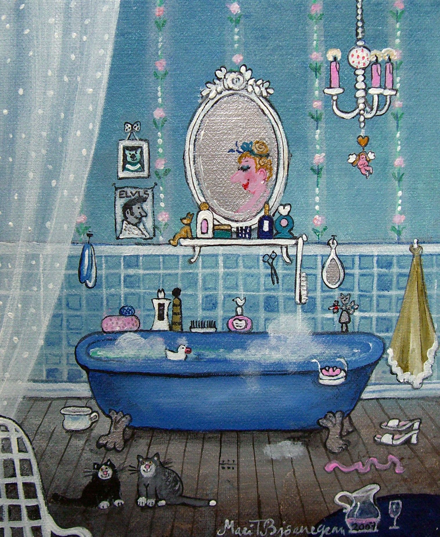A Cheery Patterned Oasis In California Eclectic Bathroom Small Bathroom Decor Bathroom Decor