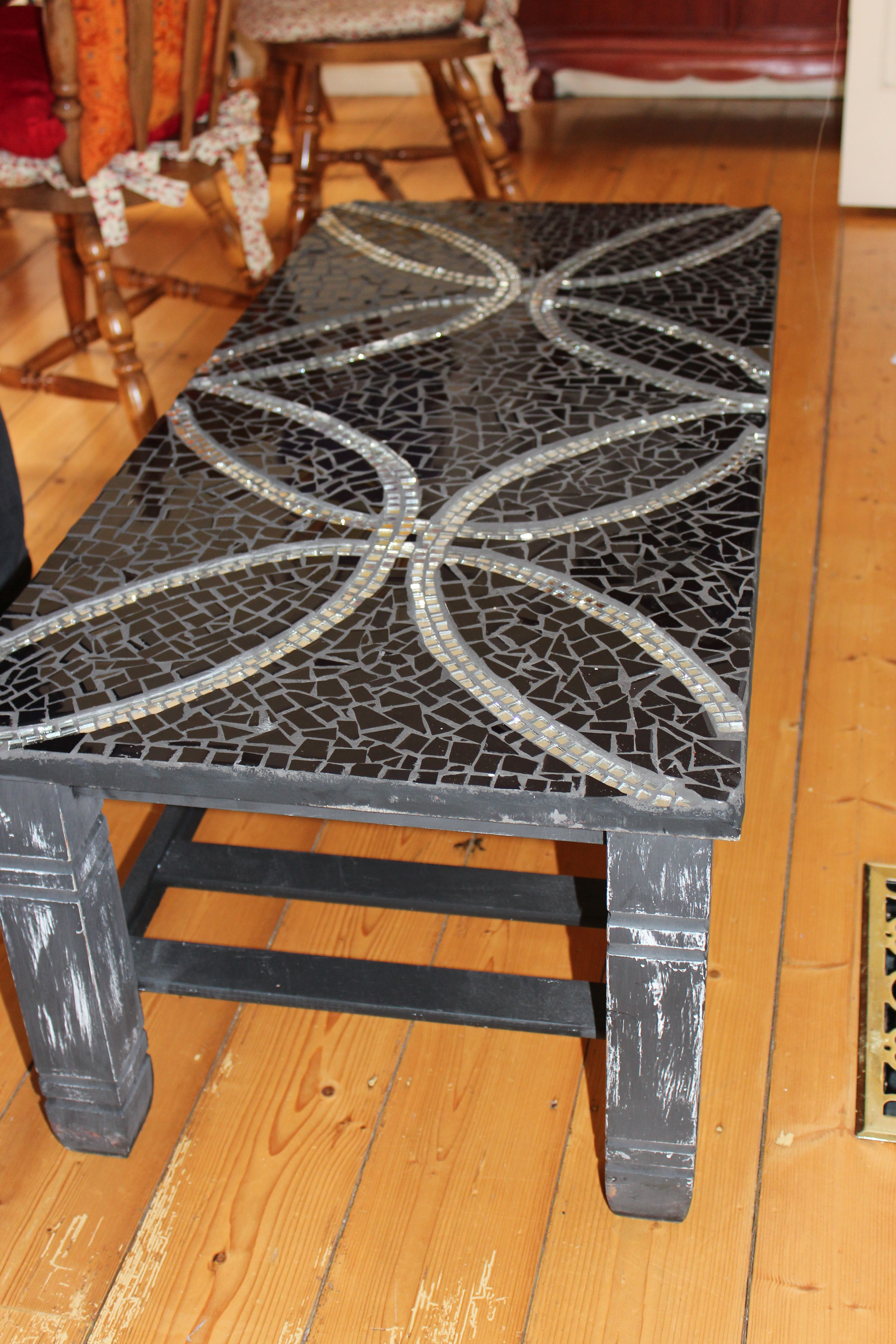 mosaic coffee table Mosaic Tables Countertops Pinterest