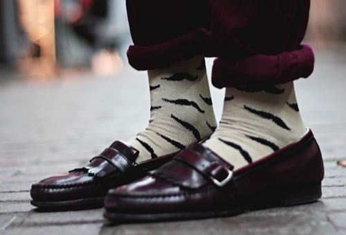54904527 The moustache socks. | Shoes and Socks | Pinterest | Calcetines ...