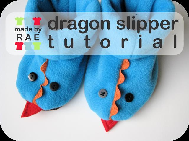 Tutorial by Rae: Dragon Slippers | Mädchen & Jungen Mützen, Schals ...