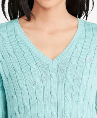 381bcd45f1bc1e Polo Ralph Lauren V-Neck Sweater - Bright Lavender XL | Products in ...