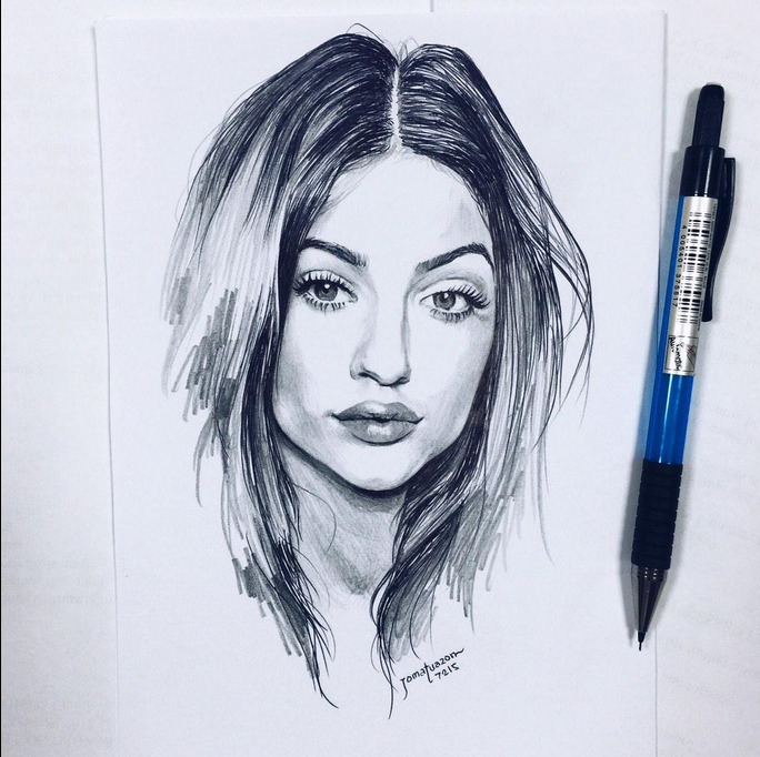 Best 25 Kylie Jenner Drawing Ideas On Pinterest: Pin By Ashley �� On Kylie Jenner