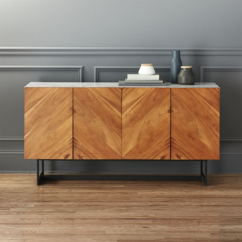 Dining Room Consoles: Store More Your Way. With Sleek Bookcases, Modern Cabinets