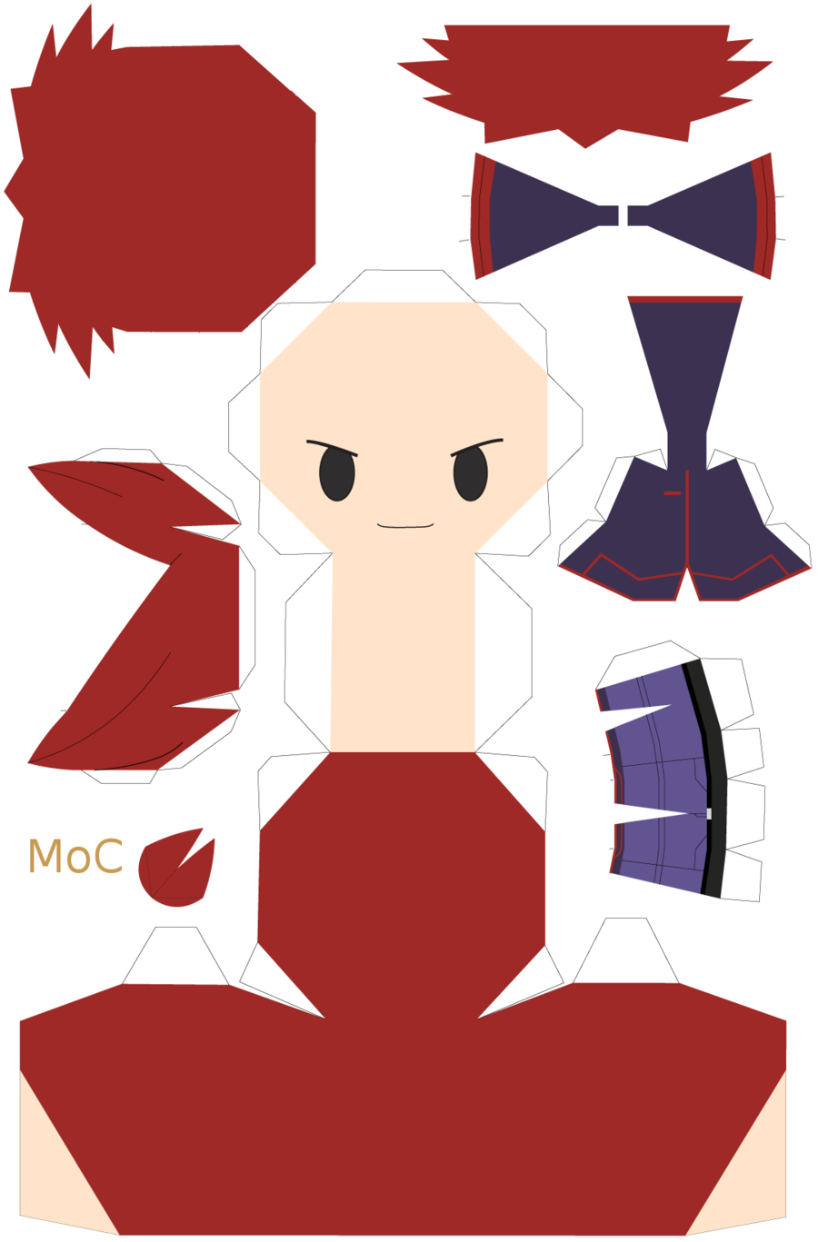 Pokemon Papercraft Templates Silver Template By Mountainofcookies On Deviantart