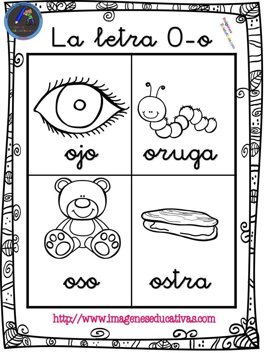 Abecedario En Imagenes Listo Para Imprimir Preescolar