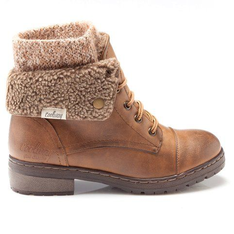 Pinterest Bottines femme like Lady fourrées 3Suisses Coolway 6q4Yrzvq