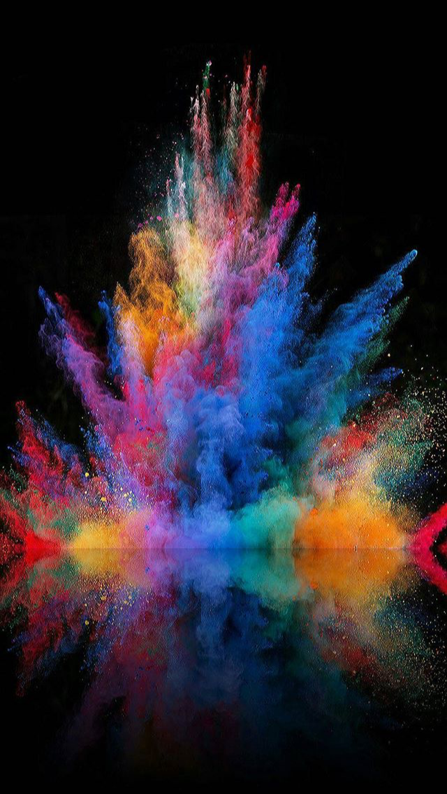 Screensaver Colors Colours Wallpaper Abstract Iphone