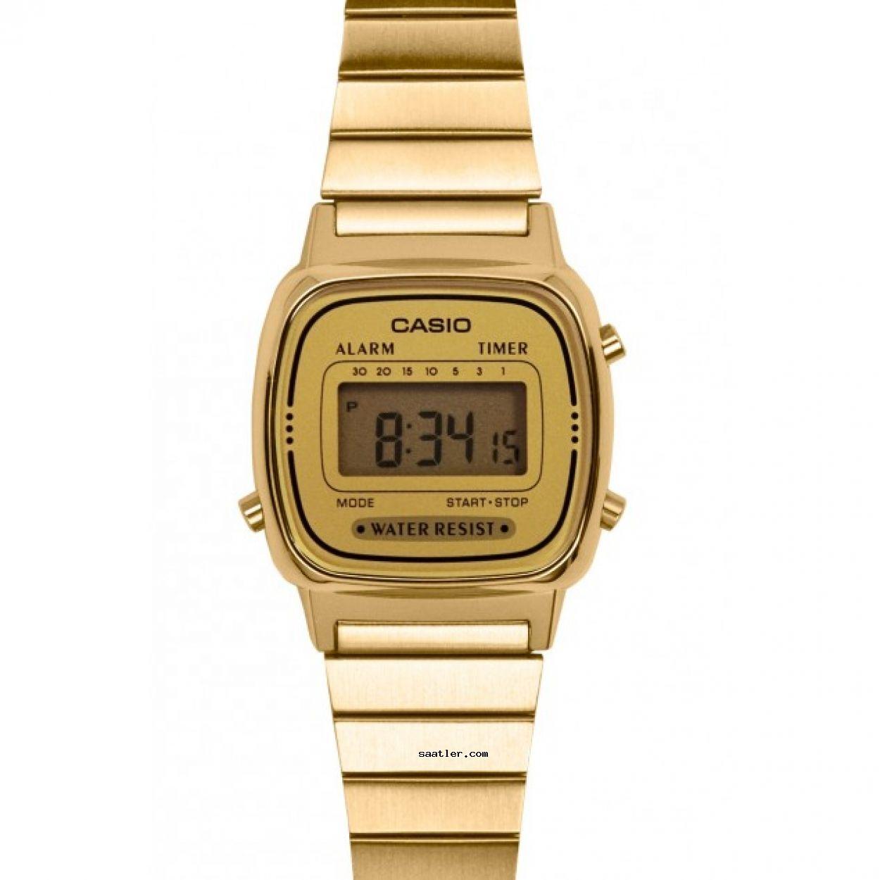Casio Retro La670wga 9df Kol Saati Casio Classic Casio Watch Casio