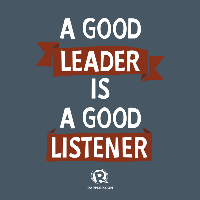 "Good Leadership Quotes: ""A Good #leader Is A Good #listener"""