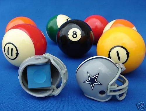 2 Pool Billiard Chalk Football Helmet Holders Billiards Nfl Football Helmets Football Helmets