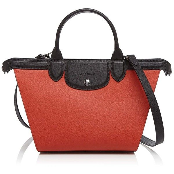 Longchamp Le Pliage Heritage Medium Satchel 1 060 Liked On Polyvore Featuring Bags