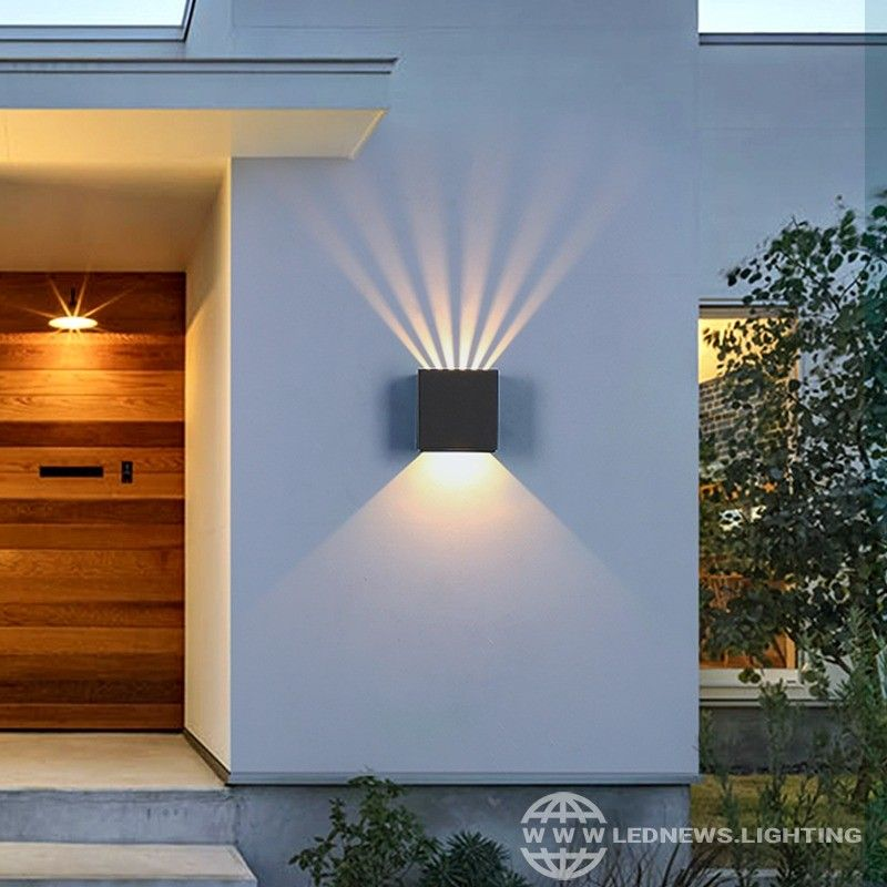 Indoor LED Wall light Sconce Up and Down Lighting Mirror Front Lamp Living Room