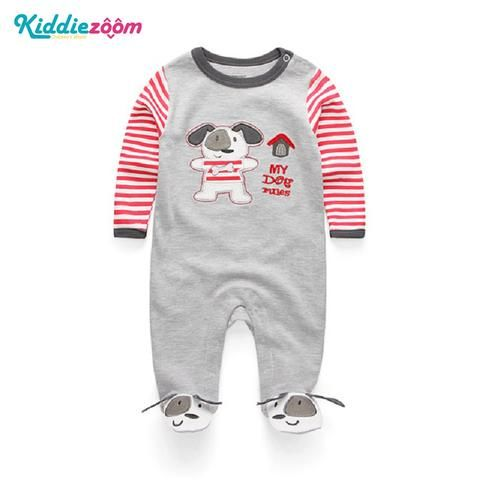 865fd899ba4f 2018 Newborn Baby Boy Girl Romper 100% Cotton Long Sleeve Infant Bebe Clothing  Cartoon Unisex Baby Clothes Anti-Scratch Gloves