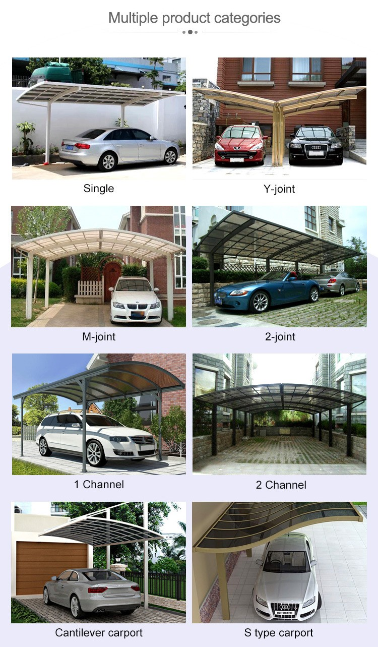 Two Car Garage Shelter/car Parking Canopy/car Shed Buy