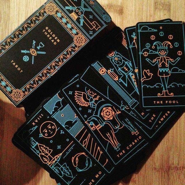 Golden Thread Tarot Version 1 A Modern Tarot Deck Tarot Deck