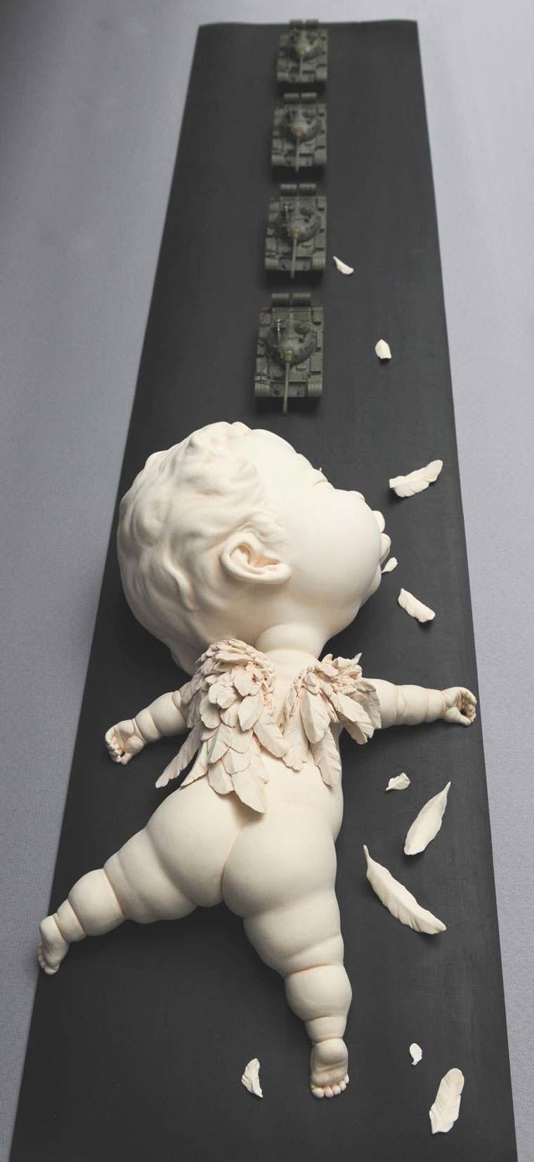 Mi niño interior, una colección creada por el escultor Johnson Tsang