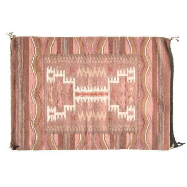 Pink & Teal Navajo Rug By Ruby + George
