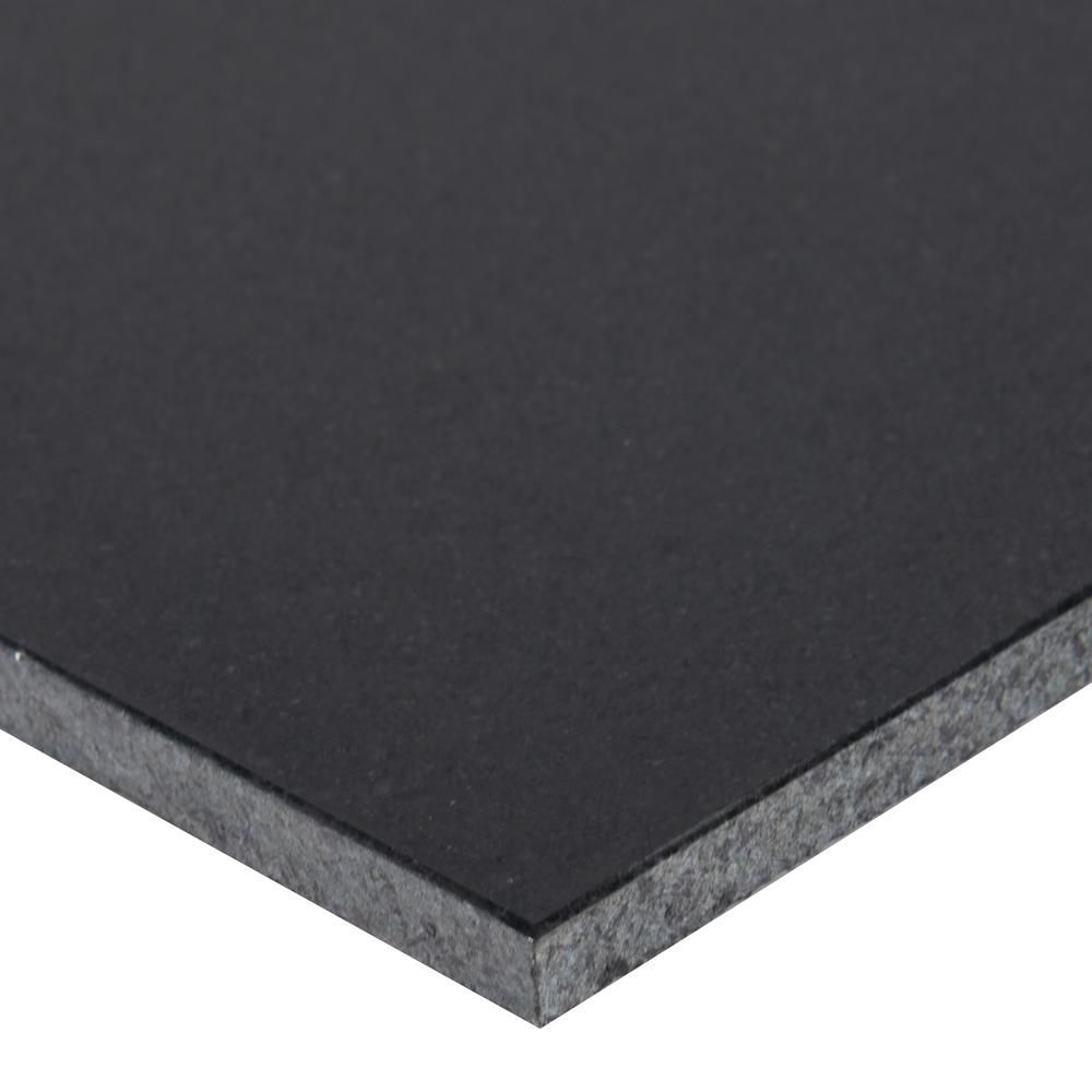 Msi Absolute Black 12 In X 12 In Honed Granite Floor And Wall Tile 10 Sq Ft Case Honed Granite Granite Flooring Wall Tiles