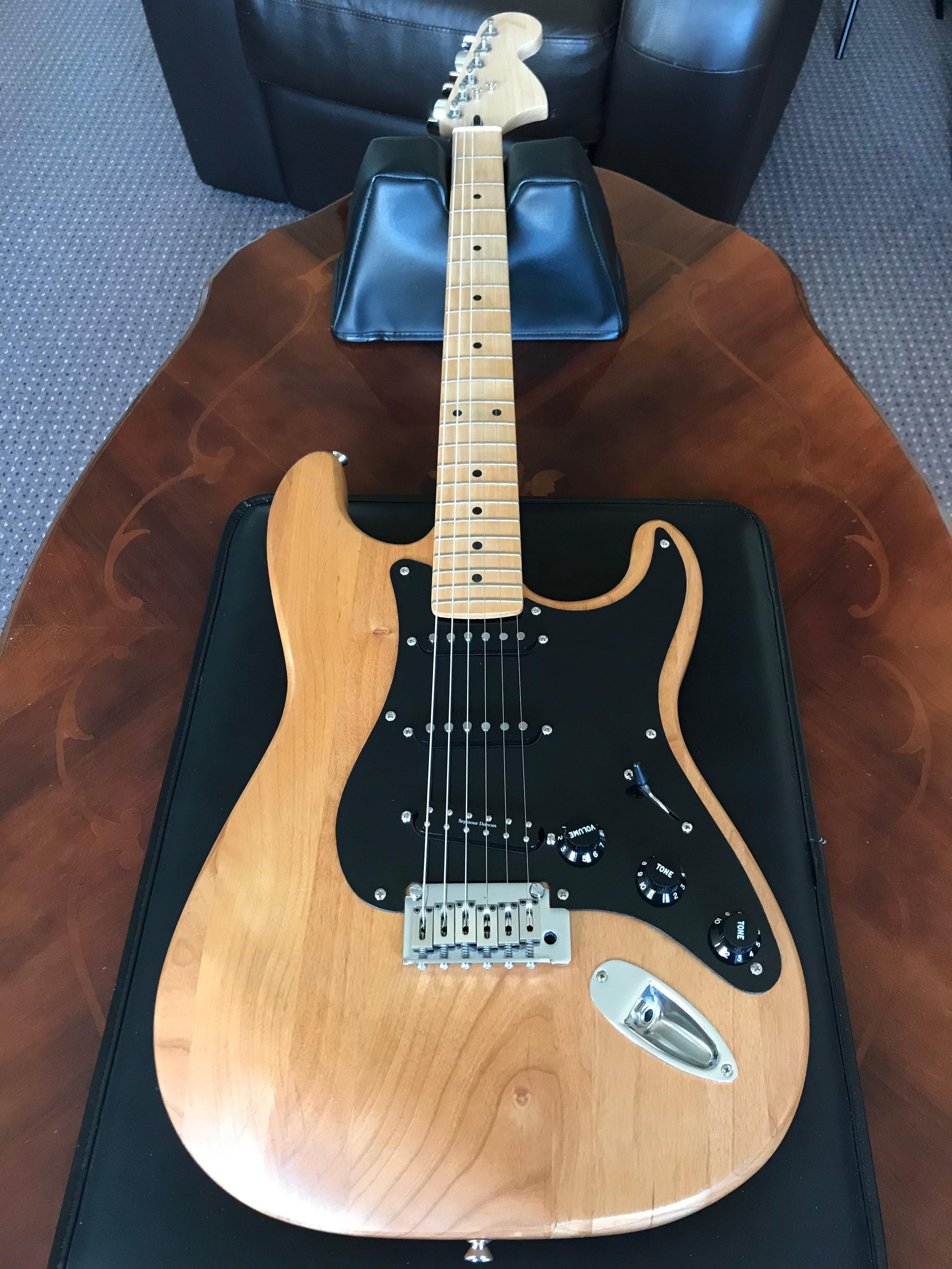 Rebuilding my first guitar (Squire Strat) - Fitted a Seymour Duncan