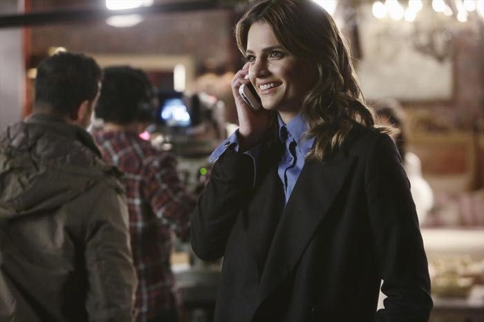 Castle Season 7 Episode 12 Photos Private Eye Caramba Castle Season 7 Stana Katic Castle Tv Shows