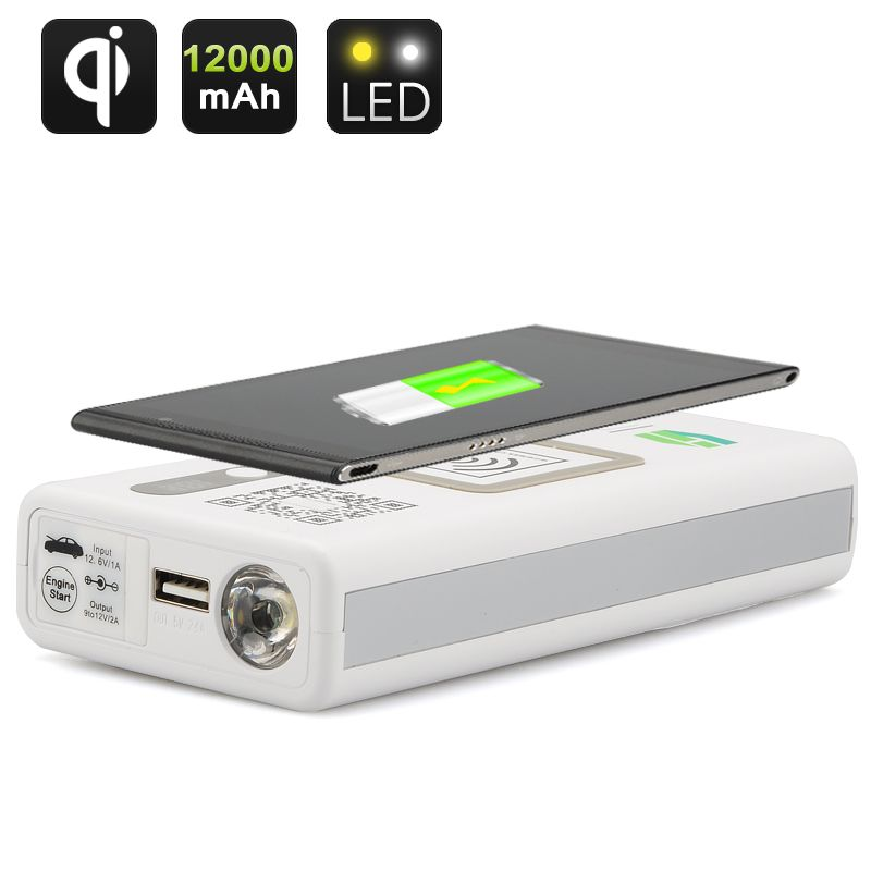 Multi-Functional Portable Power Bank #powerbank #carpower #charger #bitcoin