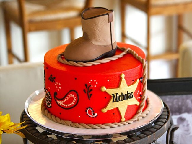 Groovy Country Western Party Nicholas Is 4 And Ava Is 2 Cowboy Funny Birthday Cards Online Barepcheapnameinfo