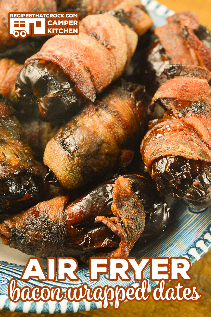 Our Air Fryer Bacon Wrapped Dates are an easy flavorful