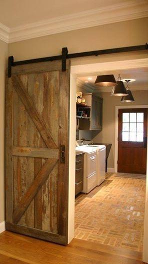 Our Custom Barn Door From Reclaimed Barn Wood Ideas For The House