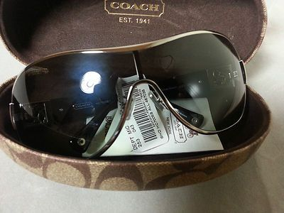 a9caa5ed7874 ... australia coach aviator shield sunglasses black silver reagan 149 black  silver 14d2e db77f ...