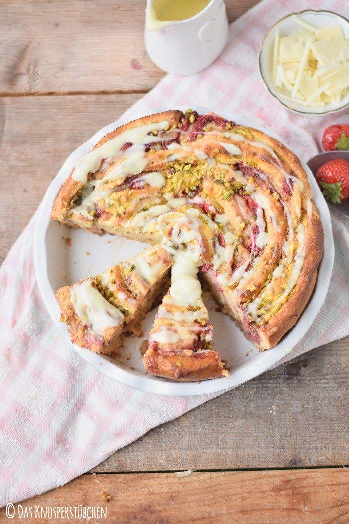 Pinwheel Pinwheellovers Erdbeeren Pudding Pistazienkrokant 30