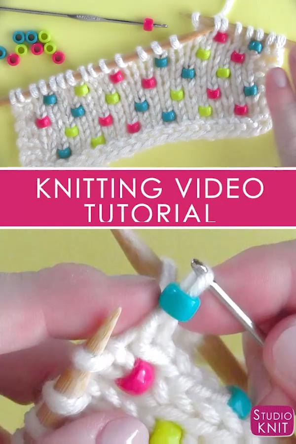 Comment tricoter des perles dans n'importe quel projet – Bienvenue sur Blog   – Muster
