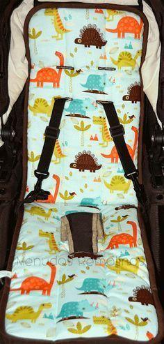 Cómo hacer una colchoneta para silla de bebé - Tutorial