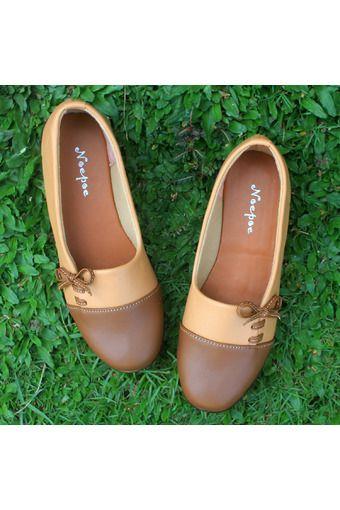 Yutaka Sepatu Wanita Keren Cokelat Sepatu Wanita Sepatu