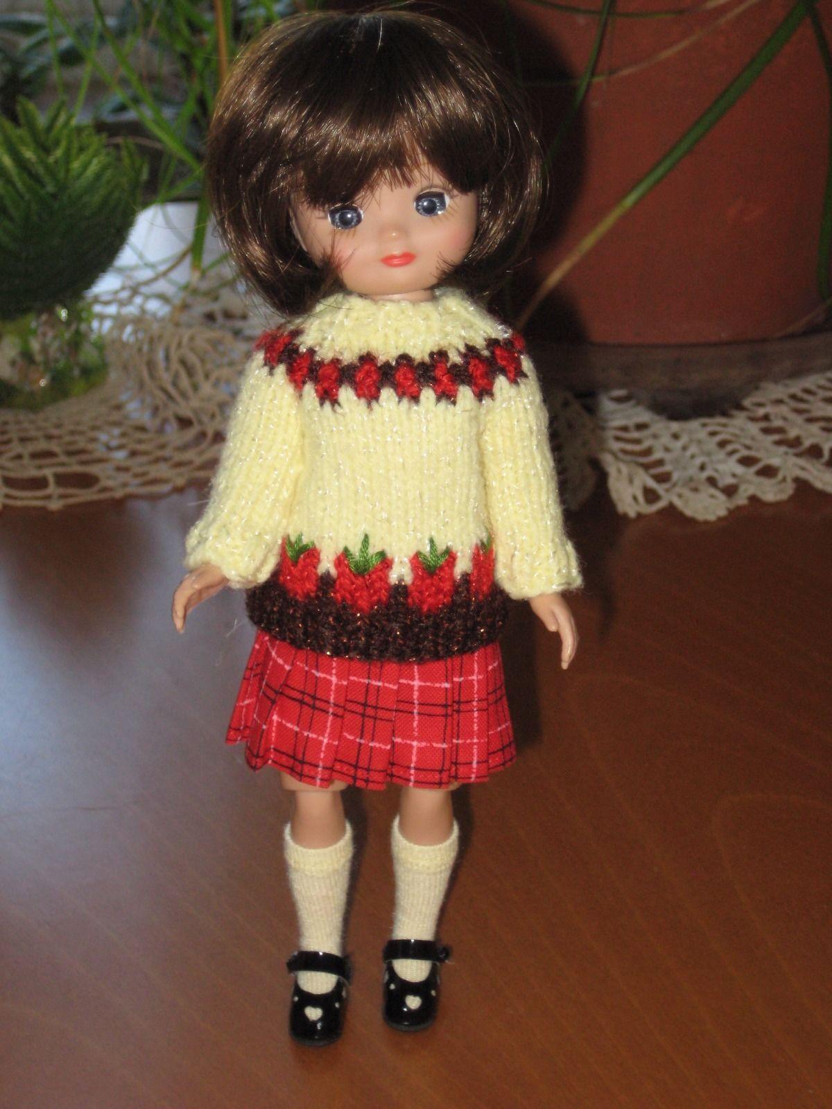 """Debs WHITE Mesh Doll Socks For 8/"""" Tiny Ann Estelle /& Tiny Betsy McCall"""