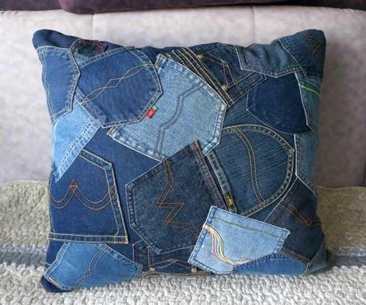 0c17454a6695 Лоскутное шитье из джинсы: из старых джинсов покрывало и одеяло, идеи,  мастер класс, сумки своими руками, фото, видео-инструкция