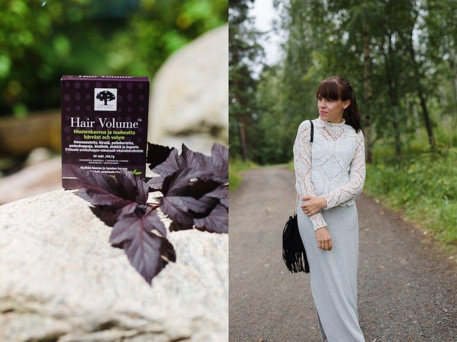Minishow blogissa oli tavoitteena tuuheammat hiukset #hiukset #kauniithiukset