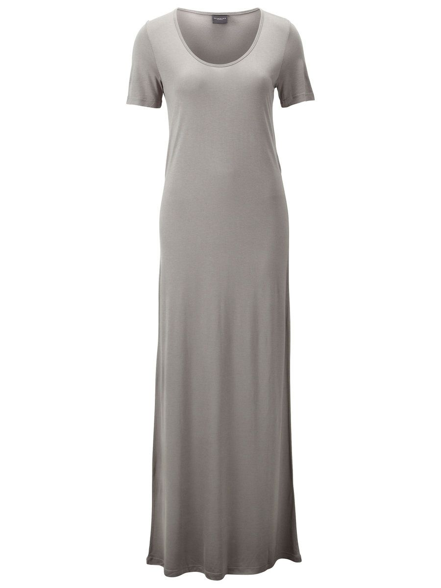 MAXI DRESS WITH SHORT SLEEVES - LINO   SELECTED FEMME - simply perfect