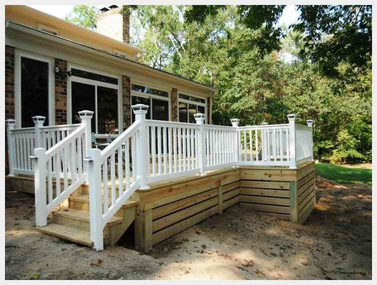 Alternative Idea For Unsightly Lattice Deck Skirting Building