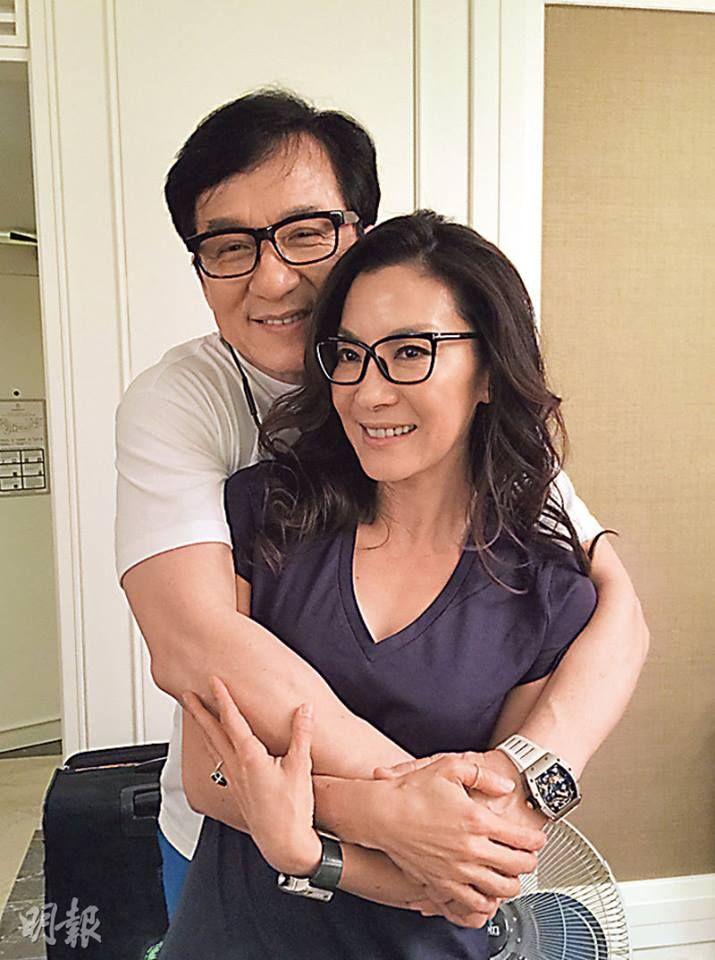 Jackie Chan Frau