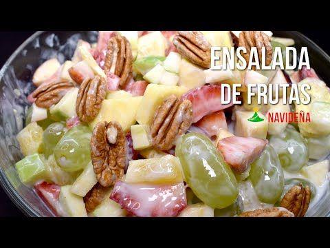 Photo of Ensalada de frutas navideña – Recetas Mexicanas – Comida Mexicana