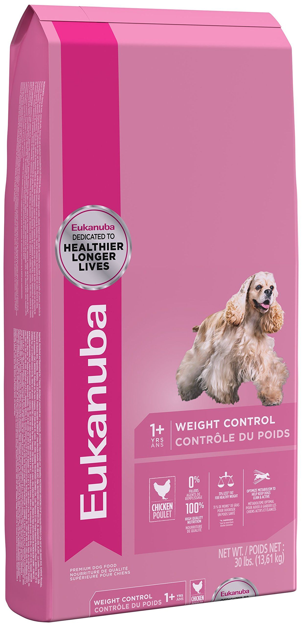 Eukanuba Adult Weight Control Dog Food 30 Pounds Click Image