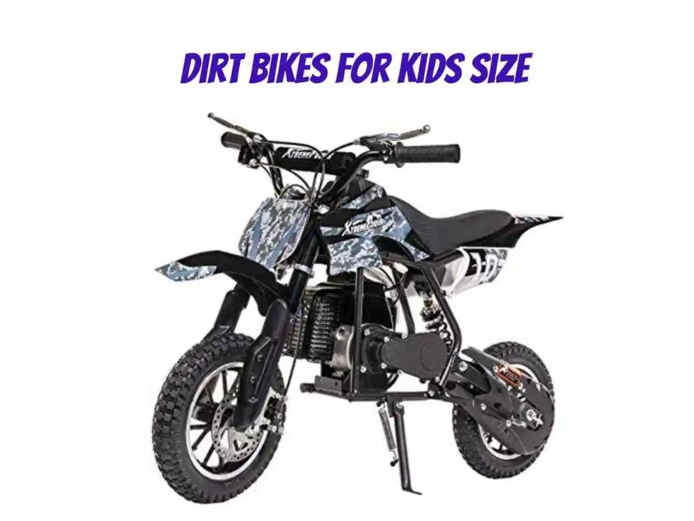 Dirt Bike Size Chart Find The Best Dirt Bike For You With