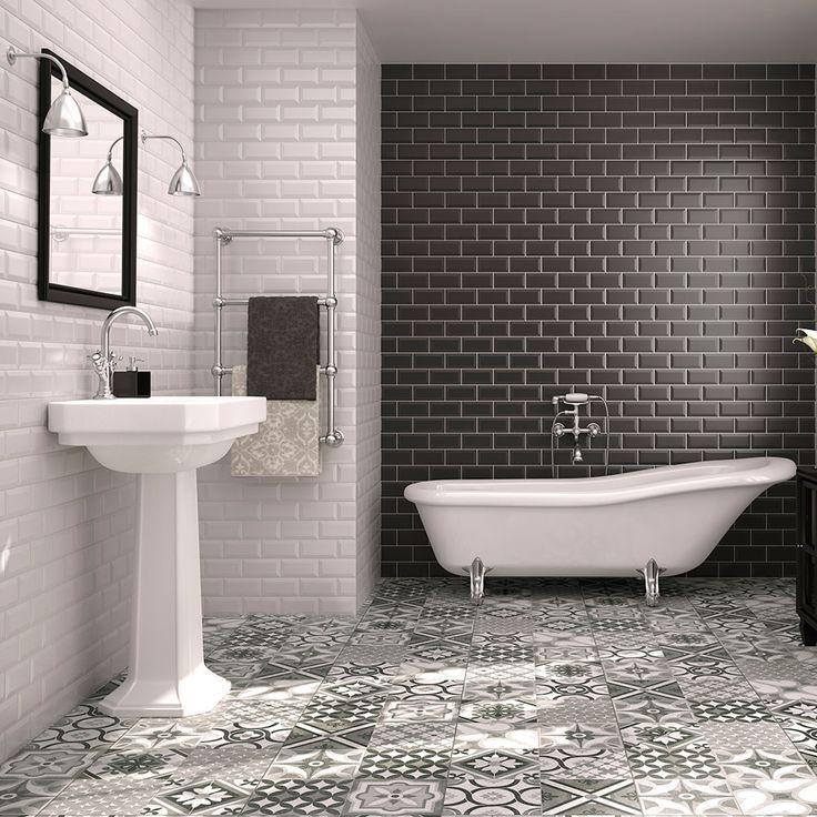 Image result for using spanish black and white tile ...