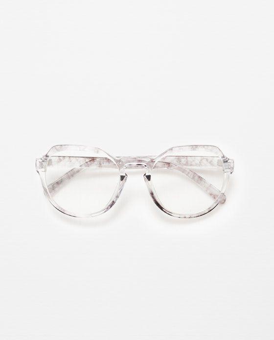 648641ff3d Imagen 1 de GAFA DE VER TRANSPARENTE VINTAGE de Zara | Gafas en 2019 ...