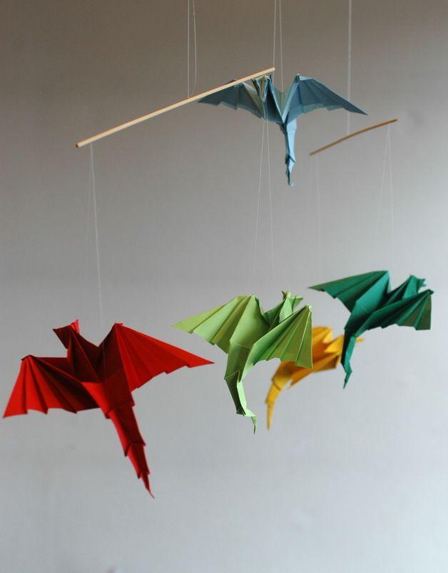 Drachen Origami