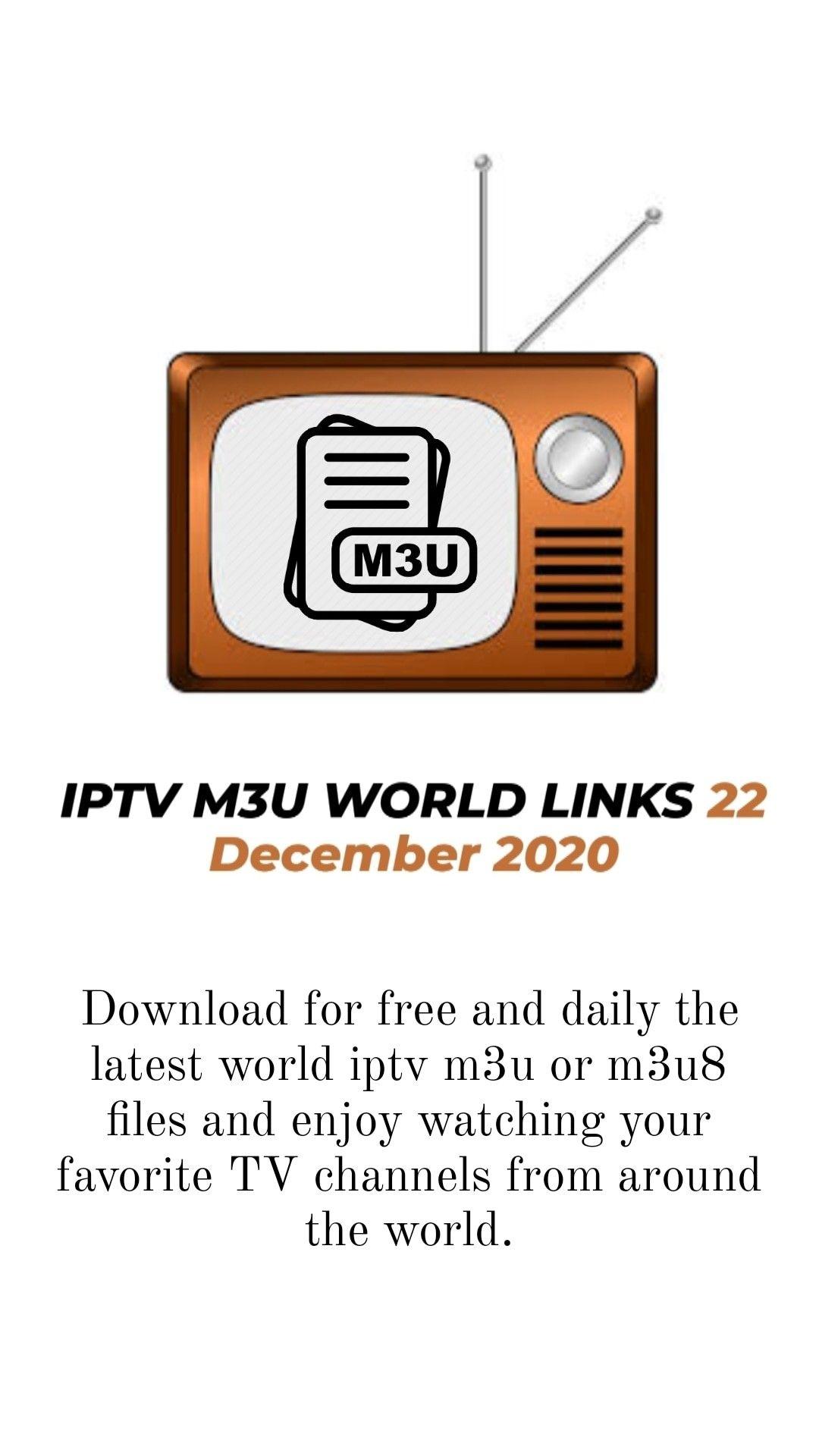 Iptv M3u World Links 22 December 2020 Tv Channels Mtv Live Discovery Channel