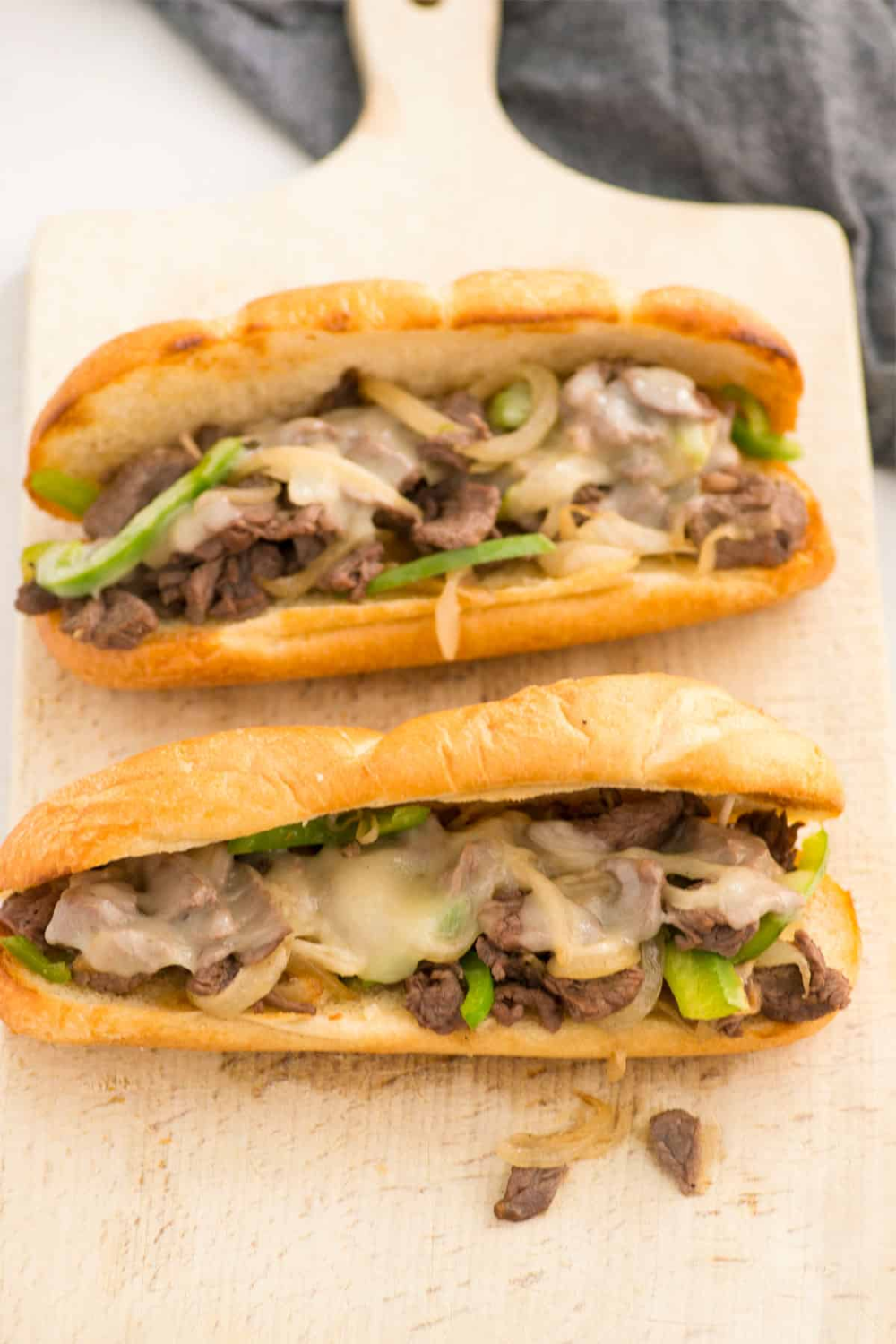 This Easy Freezer Meal Philly Cheesesteak Recipe Is The Best Juicy Thinly Sliced Steak Peppers And Philly Cheese Steak Recipe Cheesesteak Cheesesteak Recipe