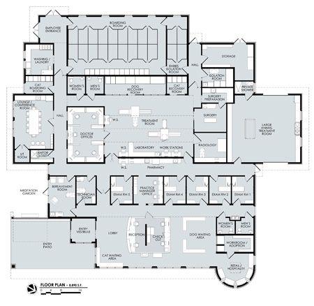 We Rebuilt Medical Clinic Design Hospital Design Hospital Floor Plan