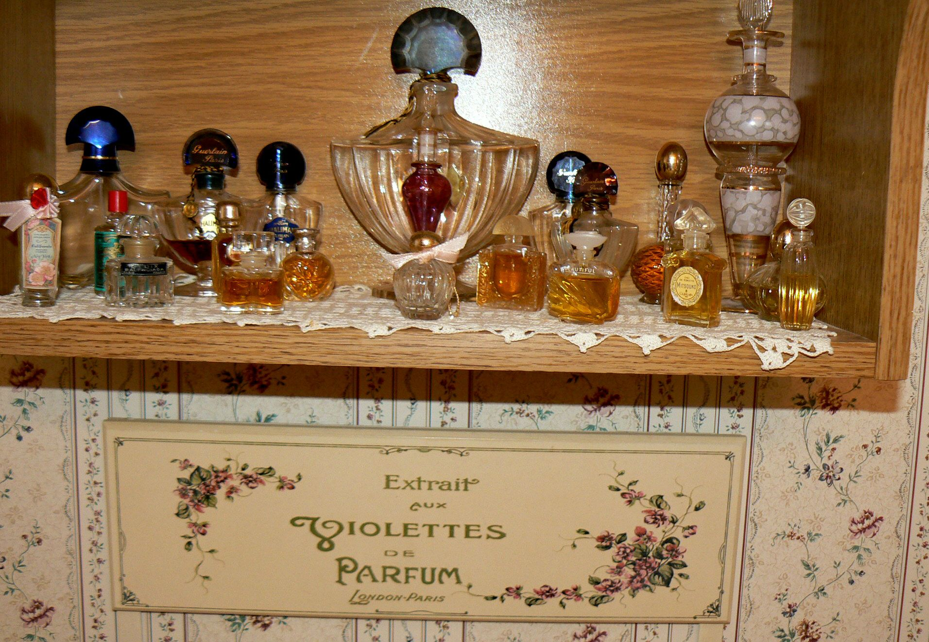My perfume bottle collection