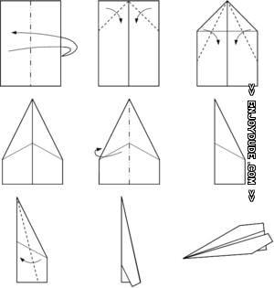 comment faire un avion en papier qui vole bien trucs et astuces paper paper plane et make a. Black Bedroom Furniture Sets. Home Design Ideas